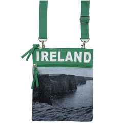 Cliffs of Moher Ireland Passport Bag