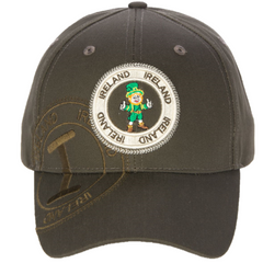 Robin Ruth Ireland Leprechaun Stamp Cap
