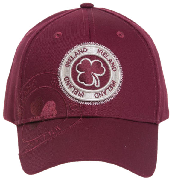 Ireland Shamrock Stamp Cap - 4 different colors