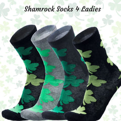 Robin Ruth Ireland Ladies Socks - Shamrock