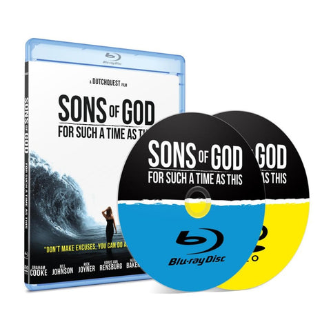 Sons Of God Blu-Ray Dvd Combo Teaching Cds & Mp3S