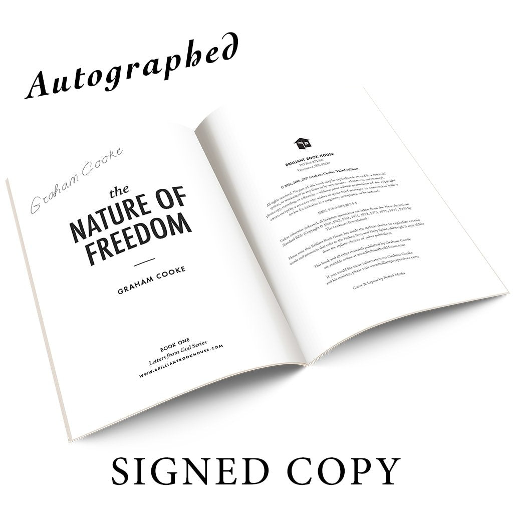 The Nature Of Freedom Autographed By Graham Books & Ebooks