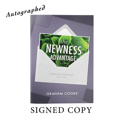 The Newness Advantage Autographed By Graham. Books & Ebooks