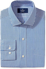 Buttoned Down Men's Non-Iron Classic Fit Spread Collar Dress Shirt
