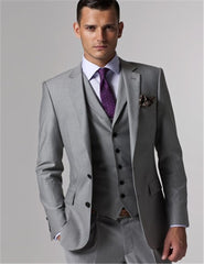 Men's 3-Piece Single Breasted  Suit