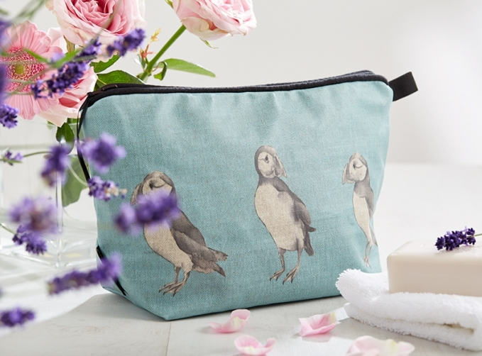 our new oilcloth wash bags have landed