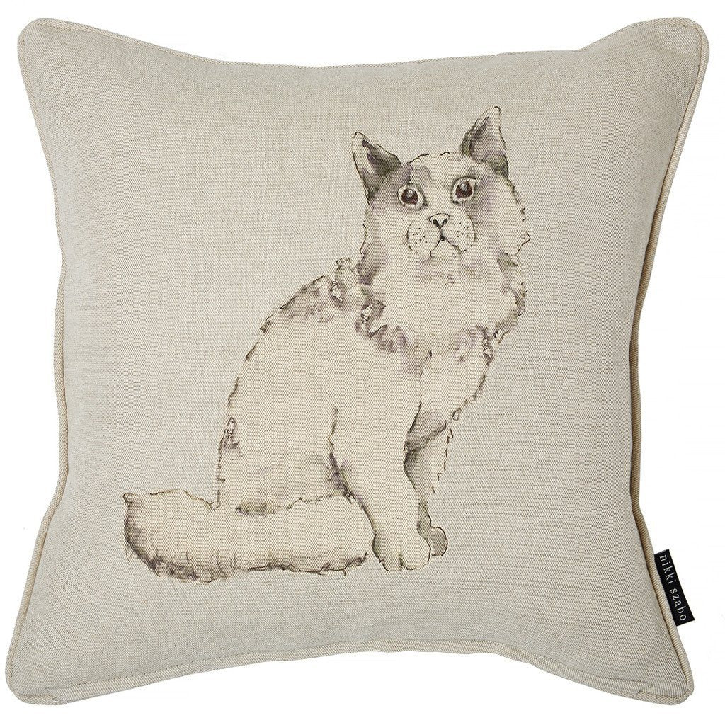 Cushion - Bella - Cat Cushion