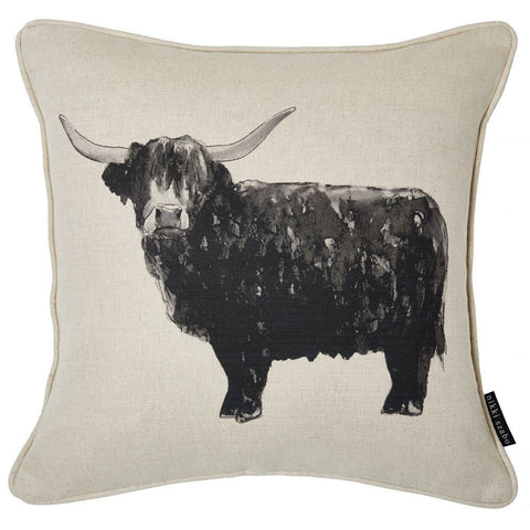 Cushion - Billy Boy - Highland Bull Cushion