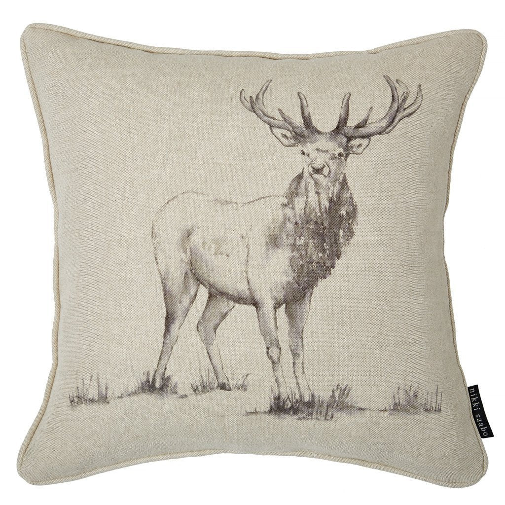 Cushion - Harlow - Stag Cushion