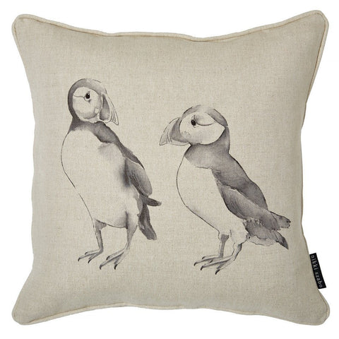 Cushion - Winnie & Scott - Puffin Cushion