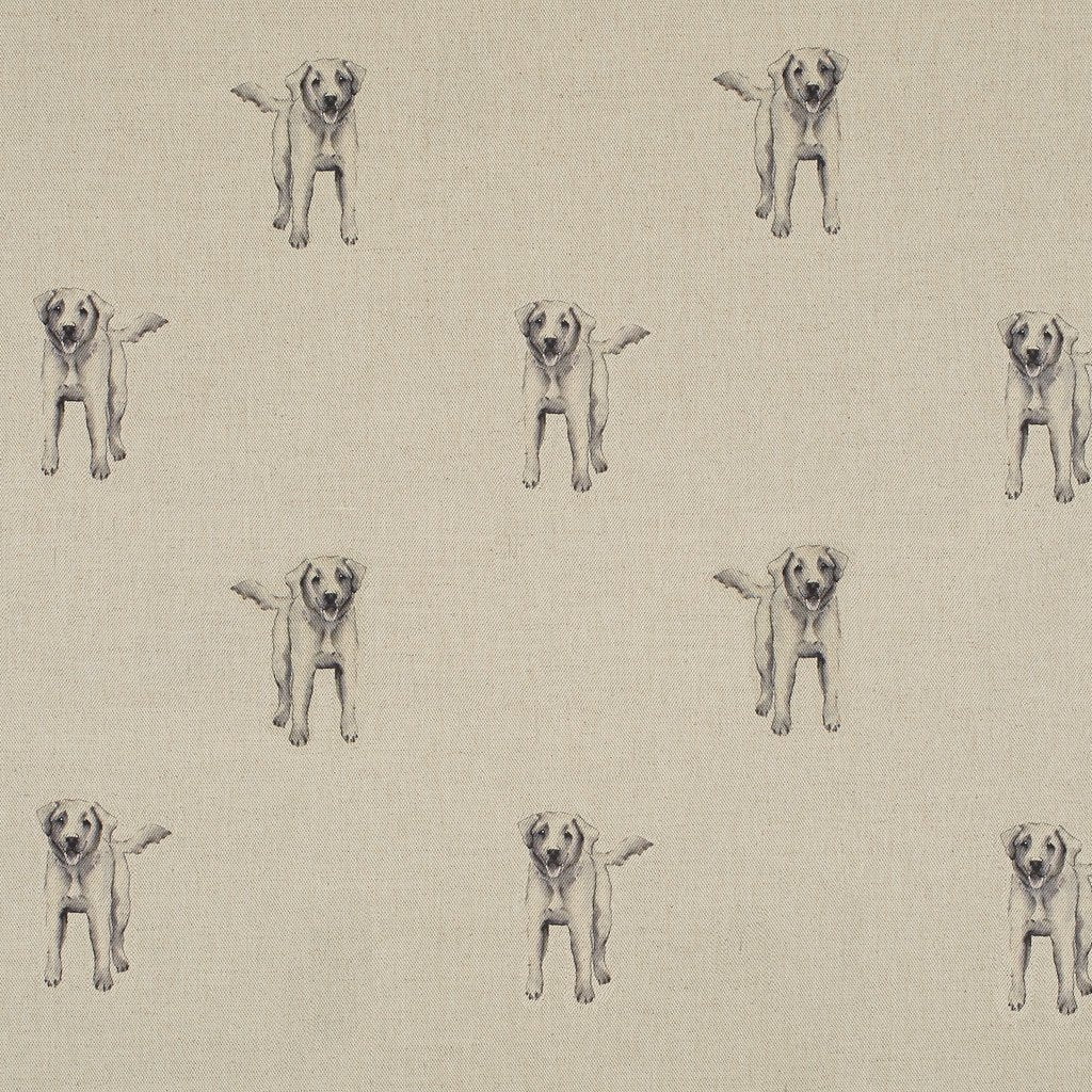 Fabric - Chester Labrador - Man's Best Friend Fabric