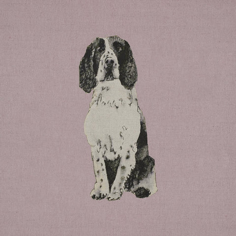 Fabric Cushion Panel - Lulu - Springer Spaniel Fabric Cushion Panel