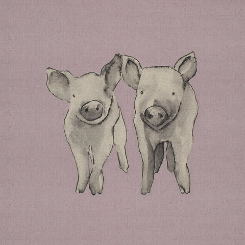 Fabric Cushion Panel - Molly & Max - Piglets Fabric Cushion Panel