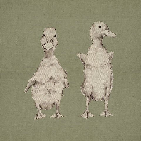 Fabric Cushion Panel - Paddy & Mook - Ducklings Fabric Cushion Panel