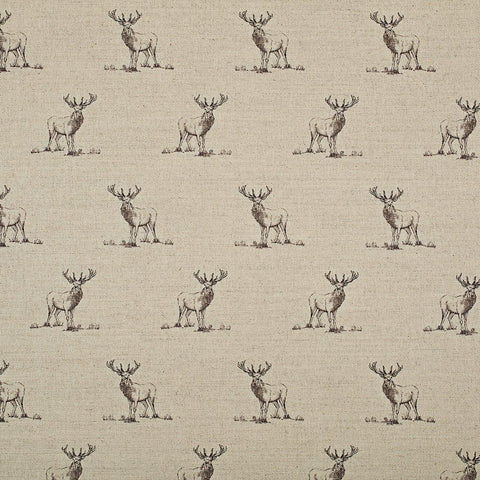 Fabric - Harlow Stag - Country Fabric