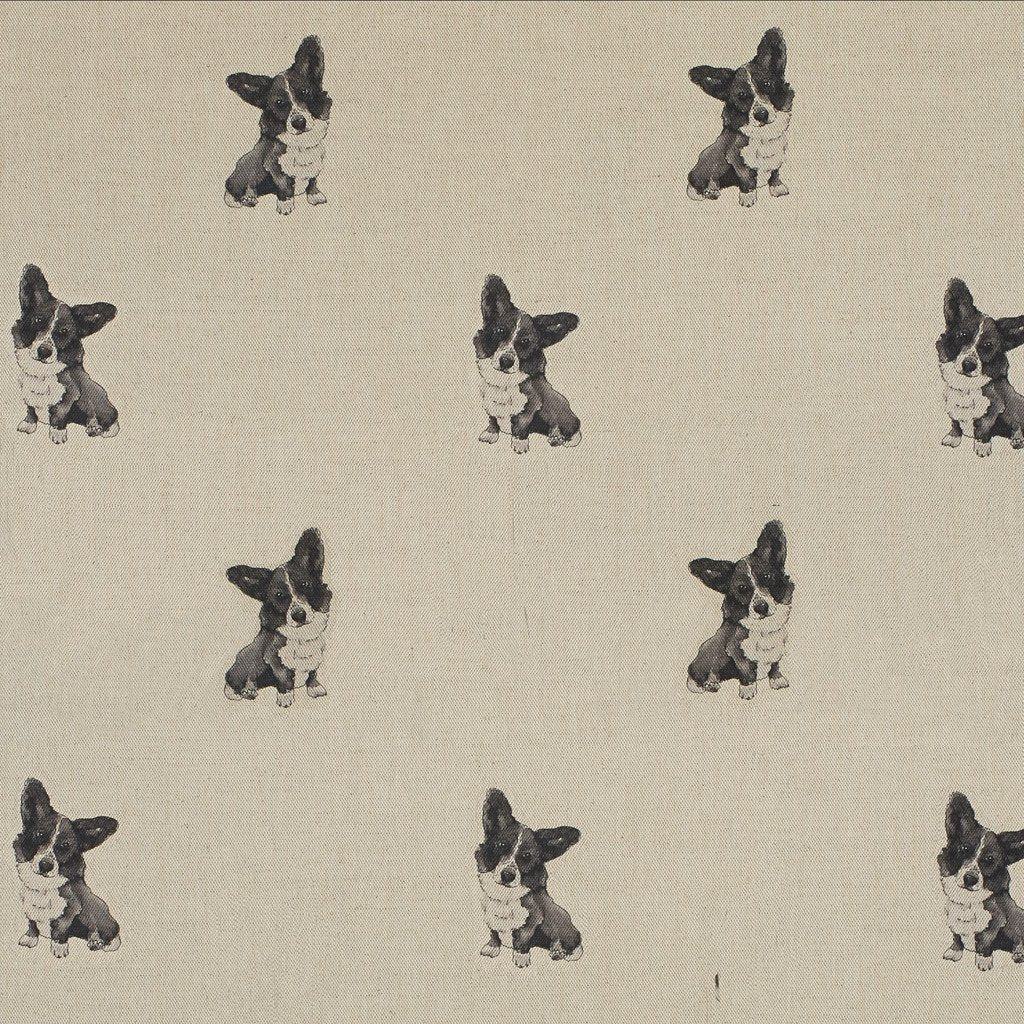 Fabric - Pip Welsh Corgi - Man's Best Friend Fabric