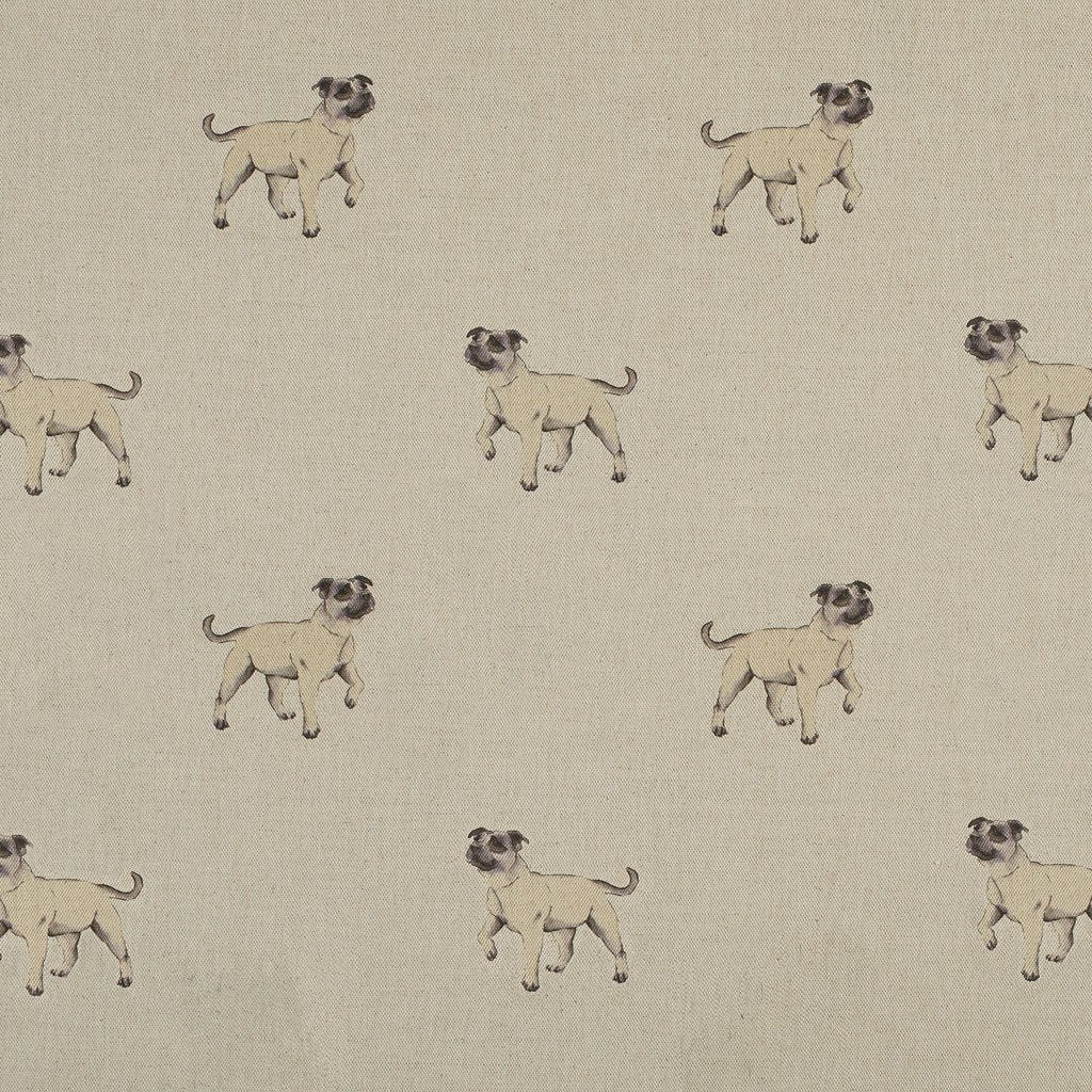 Fabric - Tala Staffie - Man's Best Friend Fabric