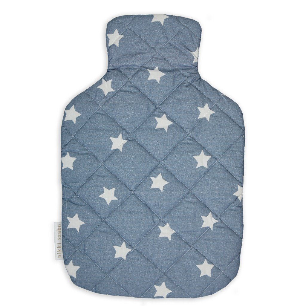 Hot Water Bottle Cover - Stars - Hot Water Bottle Cover