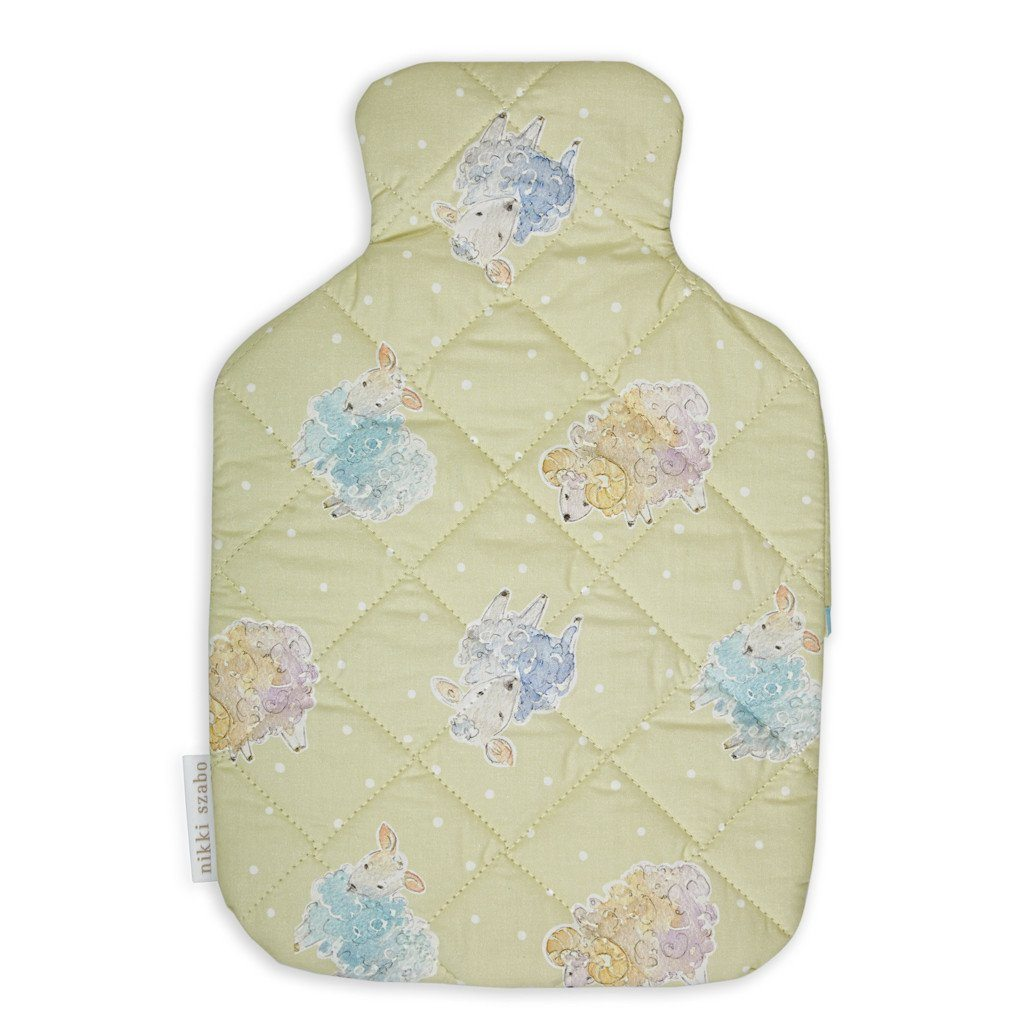 Hot Water Bottle Cover - Woolly Wonda - Hot Waterbottle Cover