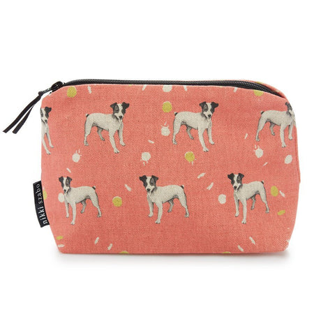 Makeup Bag - Ace - Parson Terrier Makeup Bag