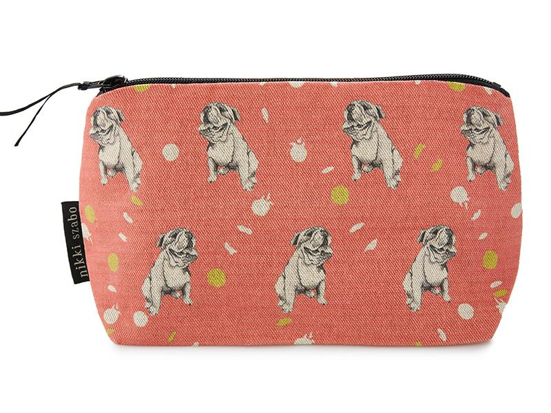 Makeup Bag - Oscar - English Bull Dog Makeup Bag
