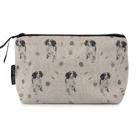 Makeup Bag - Roxy - Springer Spaniel Makeup Bag