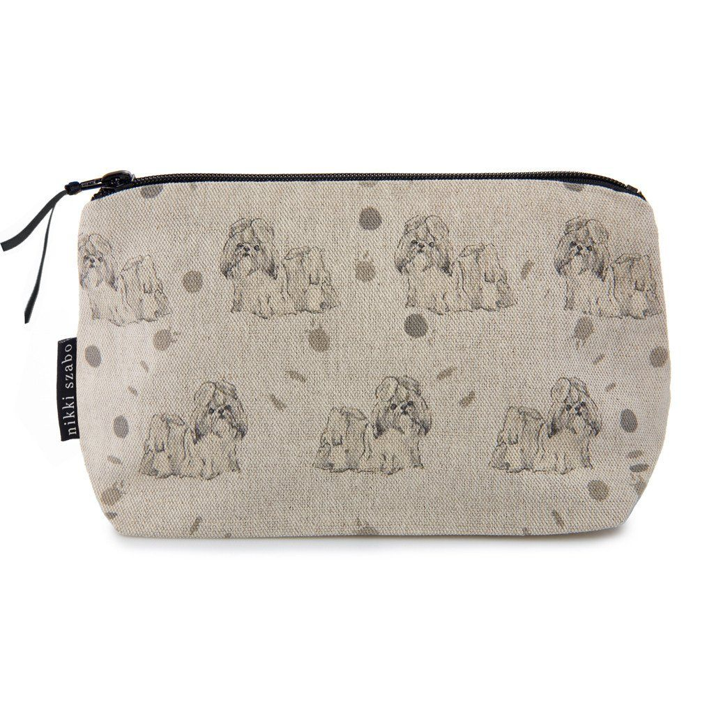 Makeup Bag - Susie - Shih-tzu Makeup Bag