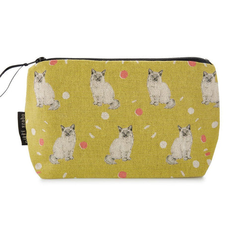 Makeup Bag - Whisker - Cat Makeup Bag