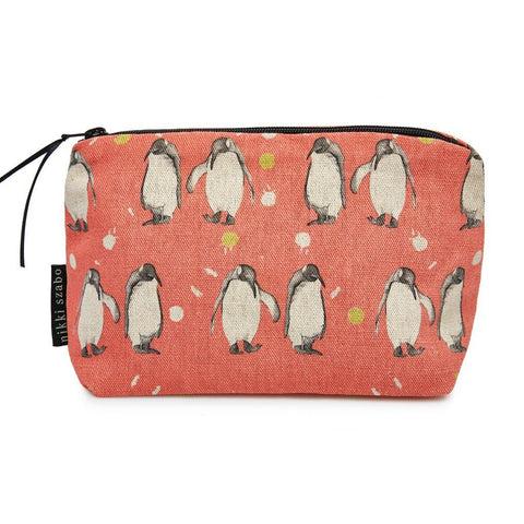 Makeup Bag - Will & Spud - Penguin Makeup Bag