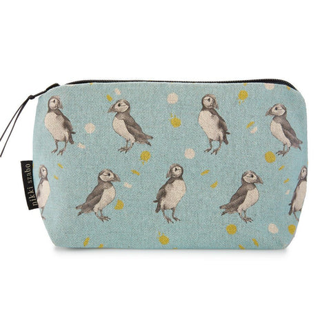 Makeup Bag - Winnie & Scott - Puffin Makeup Bag