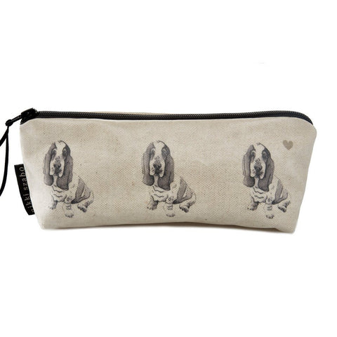 Pencil Case - Honey - Basset Hound Pencil Case
