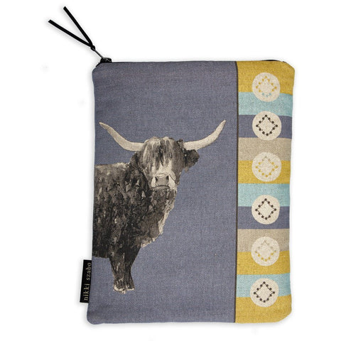 Tablet & IPad Cover - Billy Boy - Highland Bull Tablet & Ipad Cover