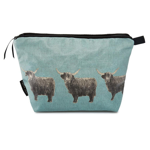 Wash Bag - Billy Boy - Highland Bull Wash Bag