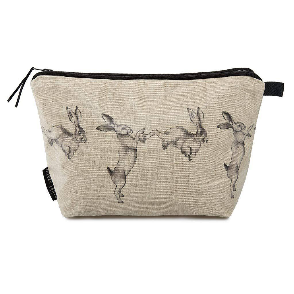 Wash Bag - Lucy & Lex - Boxing Hare Wash Bag