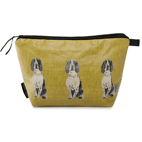 Wash Bag - Lulu - Springer Spaniel Wash Bag