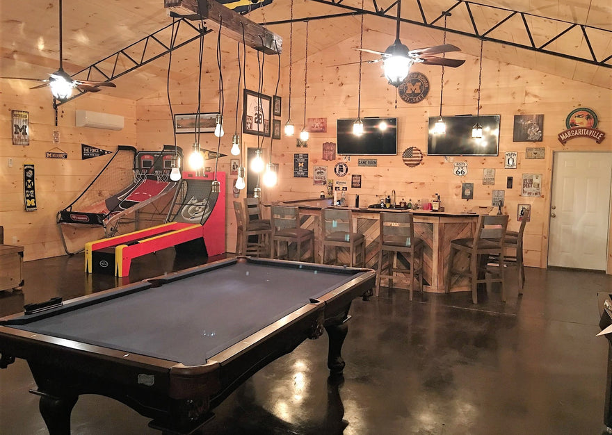 Create A Cool Man Cave Garage