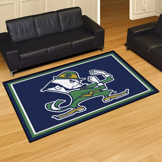 Rug 8x10 Notre Dame Fighting Irish - Man Cave Boutique