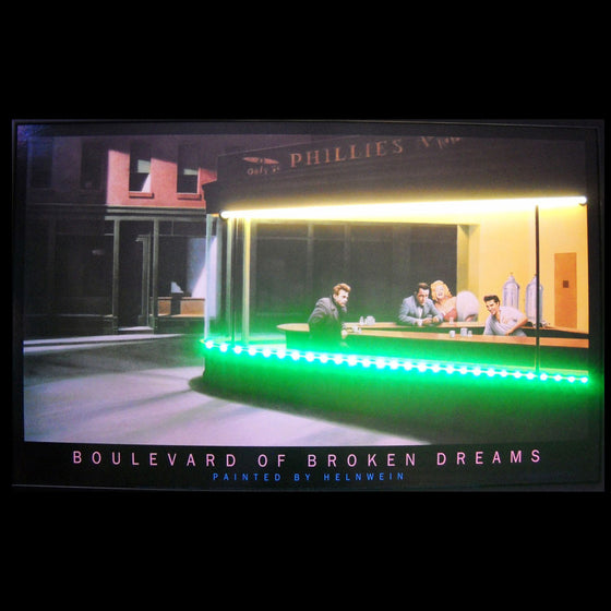 Boulevard of Broken Dreams Neon/LED Picture - Man Cave Boutique