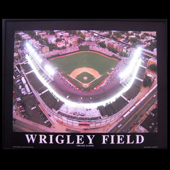 Wrigley Field Neon/LED Picture - Man Cave Boutique