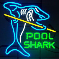POOL SHARK NEON SIGN - Man Cave Boutique