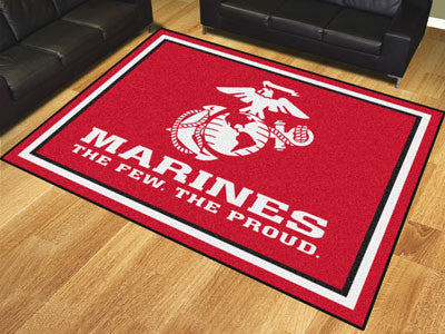 Rug 8x10 Marines - Man Cave Boutique