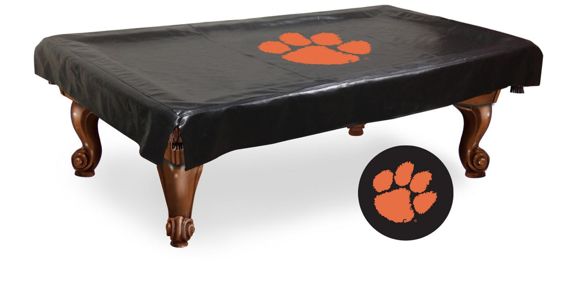 Clemson Billiard Table Cover - Man Cave Boutique