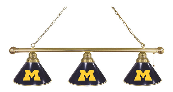 University of Michigan Logo Billiard Light Fixture - Man Cave Boutique