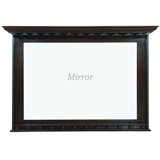 Bar Mirror - Cappuccino 52 x 10 x 36 in - Man Cave Boutique
