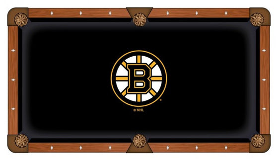 Boston Bruins NHL Logo Pool Table Cloth - Man Cave Boutique
