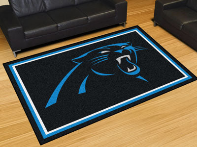 Rug 5x8 Carolina Panthers NFL - Man Cave Boutique