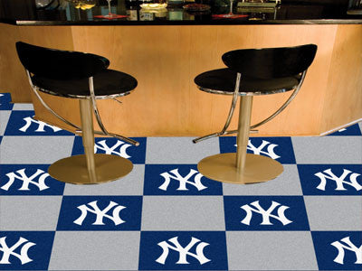New York Yankees Carpet Tiles - Man Cave Boutique
