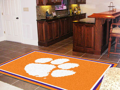 Rug 5x8 Clemson University - Man Cave Boutique