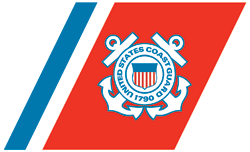 U.S. Coast Guard Logo 8' Pool Table - Man Cave Boutique