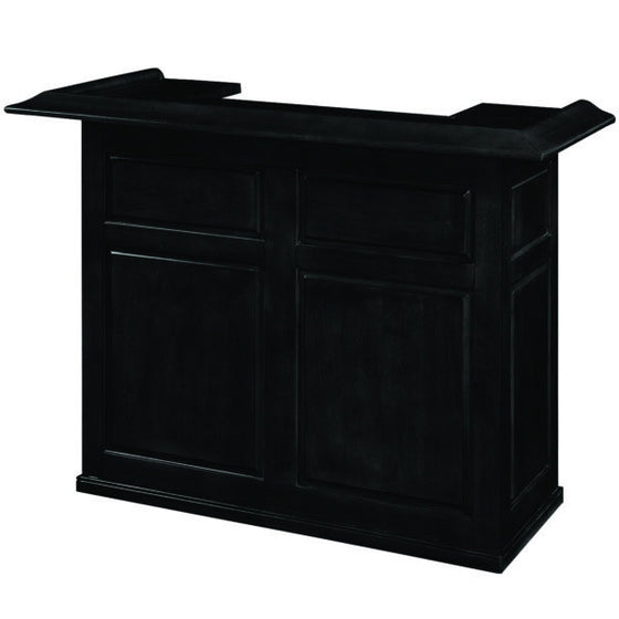 60″ Dry Bar - Black - Man Cave Boutique